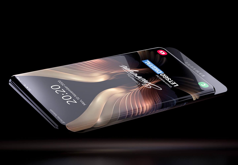 Samsung Galaxy slider smartphone