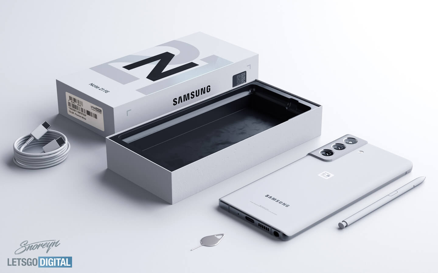 Samsung Note 21 Fan Edition