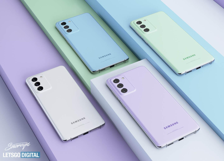 Kamera Samsung Galaxy S21 FE